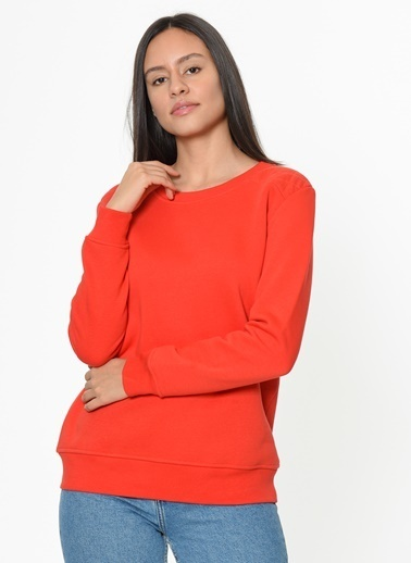 Loox Sweatshirt Kırmızı